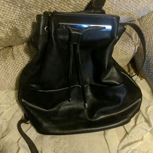 Black backpack from Forever 21. Great condition!